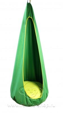 Гамак-Кокон Цвет: зеленый